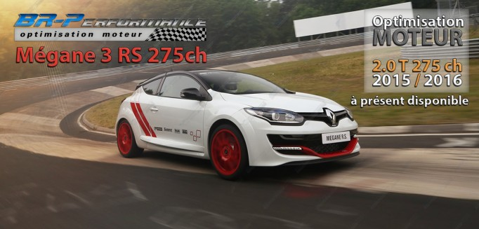 REPROGRAMMATION MEGANE 3 RS (2015/2016) DISPONIBLE