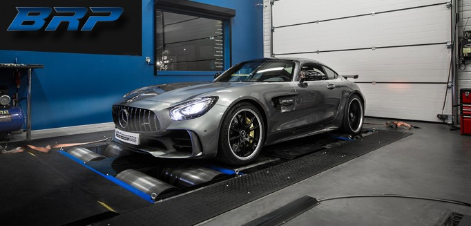 MERCEDES AMG GT-R 5.5 Bi-Turbo 585hp (Stage 1)
