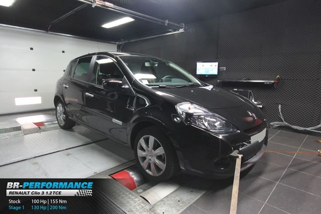 Renault Clio Clio 3 1 2 Tce Stage 1 Br Performance Paris