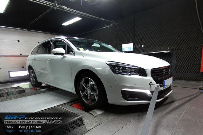 peugeot 508 ph2 2 0 bluehdi stage 1 - br-performance paris