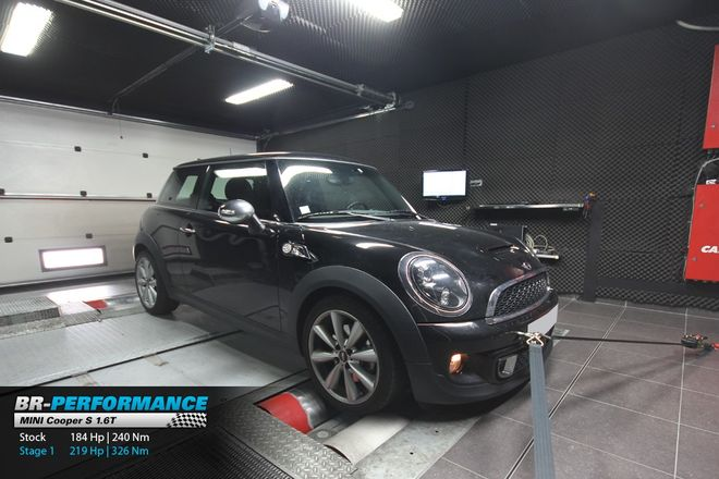 Mini Cooper S ... R56 S stage 1 - BR-Performance Paris ...