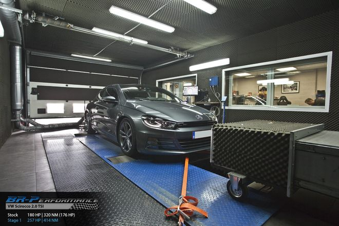 volkswagen scirocco 2 0 tsi stage 1