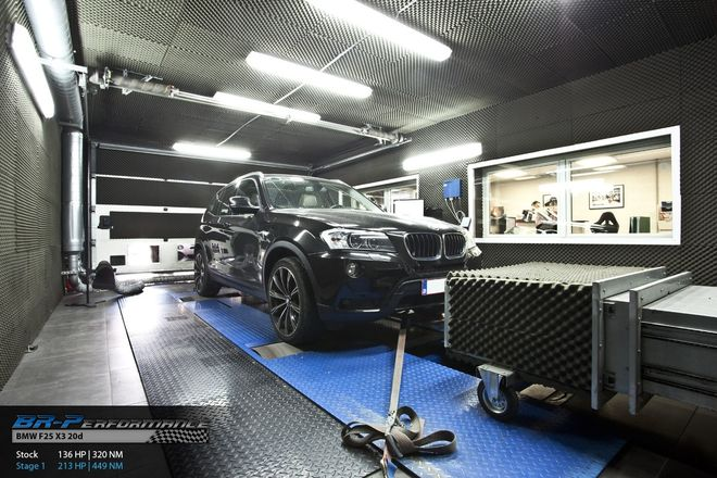 bmw x3 f25 sdrive 18d stage 1